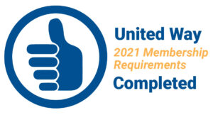 United Way 2021 Membership Requirements Completed